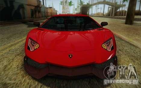 Lamborghini Aventador LP720-4 2013 для GTA San Andreas вид сбоку