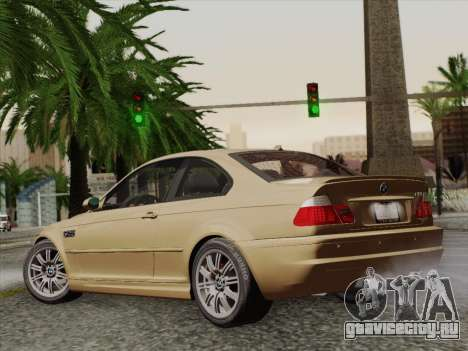 BMW M3 E46 2005 для GTA San Andreas вид слева