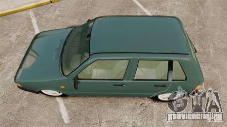 Fiat Uno для GTA 4 вид справа
