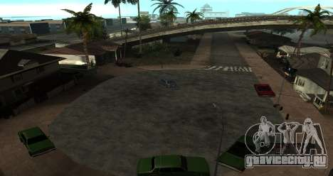 ENB Series for SA:MP для GTA San Andreas восьмой скриншот