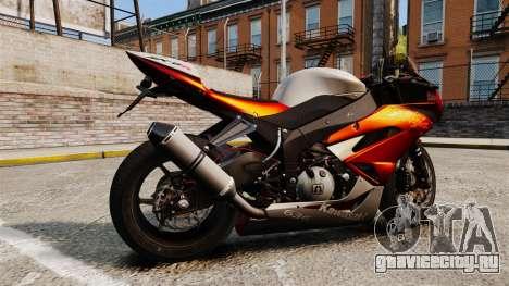 Kawasaki Ninja ZX-6R v2.0 для GTA 4 вид слева