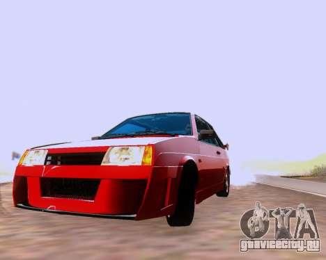 ВАЗ 2108 Tuneable для GTA San Andreas салон