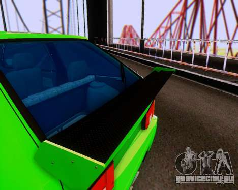 ВАЗ 2108 Tuneable для GTA San Andreas вид сверху