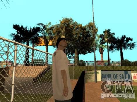 Скин Трейсера GPF Team для GTA San Andreas четвёртый скриншот