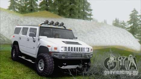 Hummer H2 Tunable для GTA San Andreas