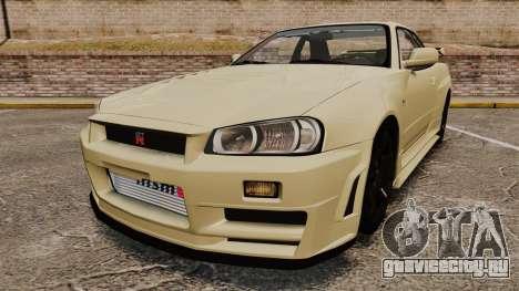 Nissan Skyline R34 Nismo Z-Tune для GTA 4