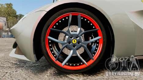 Ferrari F12 Berlinetta Novitec Rosso N-Largo для GTA 4 вид сзади