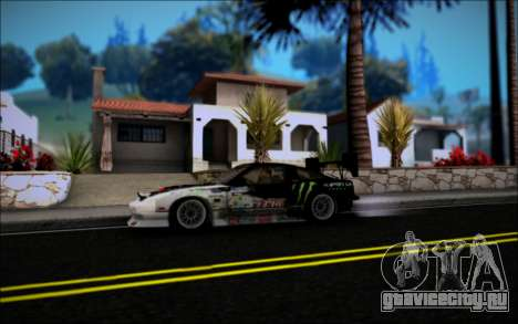 Nissan 240SX Monster Energy для GTA San Andreas вид справа