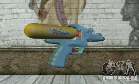 Water Gun для GTA San Andreas второй скриншот