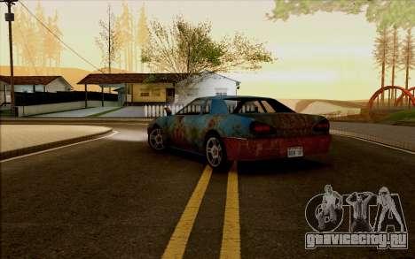 Elegy by Swizzy для GTA San Andreas вид слева