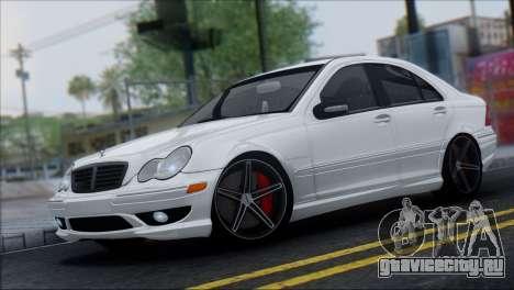 Mercedes-Benz C32 Vossen для GTA San Andreas