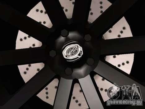 Chrysler 300 SRT8 Black Vapor Edition для GTA San Andreas вид сбоку