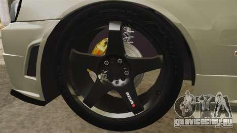 Nissan Skyline R34 Nismo Z-Tune для GTA 4 вид сзади