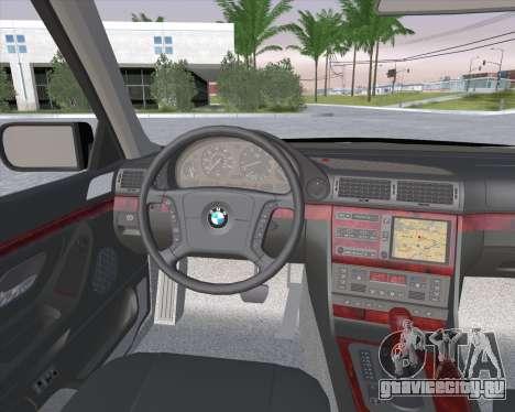 BMW 7-series E38 для GTA San Andreas вид справа