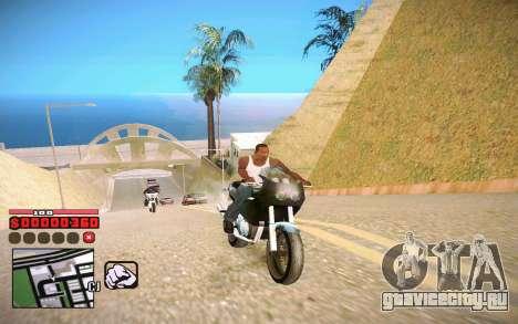 C-HUD by ComPot для GTA San Andreas второй скриншот