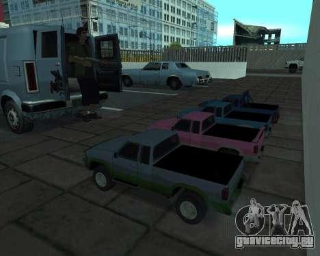 RC Pickup Off Road для GTA San Andreas вид сзади слева