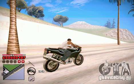 C-HUD by ComPot для GTA San Andreas четвёртый скриншот