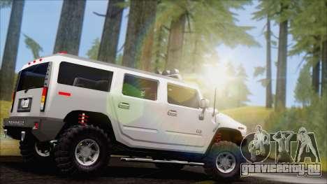 Hummer H2 Tunable для GTA San Andreas вид слева