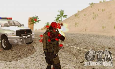 Blood On Screen для GTA San Andreas восьмой скриншот