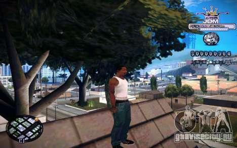 C-HUD JDM для GTA San Andreas третий скриншот
