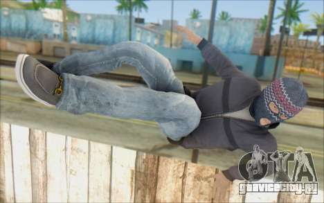 Russian Thug для GTA San Andreas