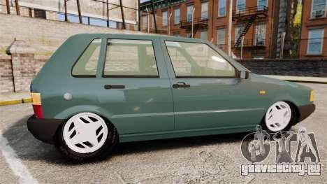Fiat Uno для GTA 4 вид слева