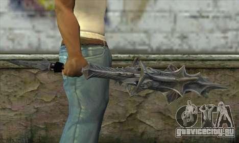 Daedric Sword для GTA San Andreas третий скриншот