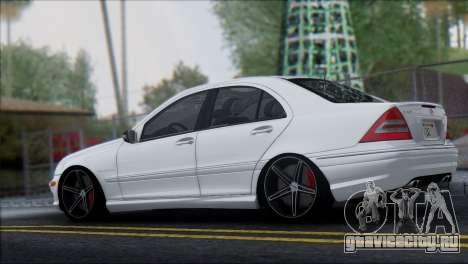 Mercedes-Benz C32 Vossen для GTA San Andreas вид слева