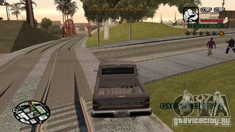 Новый шрифт V.2 для GTA San Andreas третий скриншот
