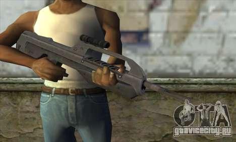 Halo 2 Battle Rifle для GTA San Andreas третий скриншот