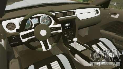 Ford Mustang GT 2013 NFS Edition для GTA 4 вид сбоку