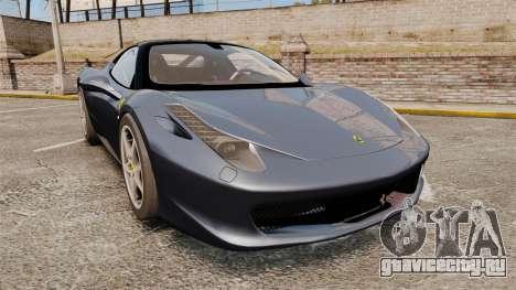 Ferrari 458 Italia для GTA 4