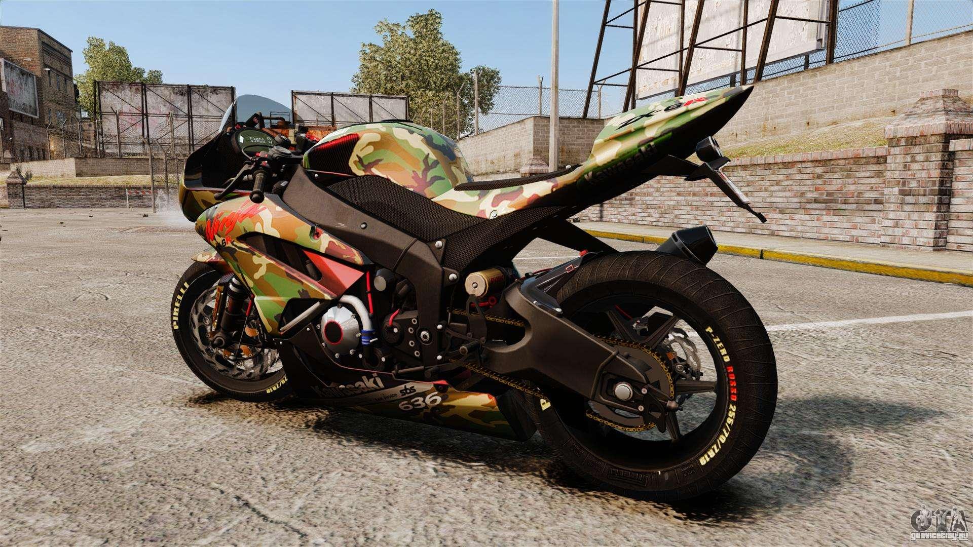 Kawasaki Ninja ZX-6R  № 1588228  скачать