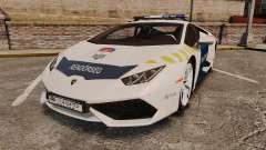 Lamborghini Huracan Hungarian Police [ELS]