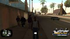 C-HUD Kings of Rap для GTA San Andreas