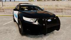 Ford Taurus Police Interceptor 2013 [ELS] для GTA 4