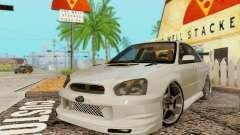 Subaru Impreza WRX фондовой