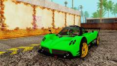 Pagani Zonda Type R Green
