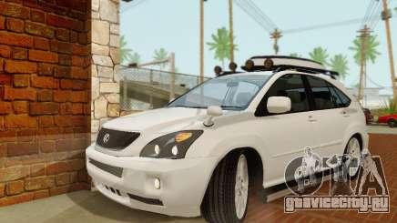 Lexus RX400h 2010 для GTA San Andreas