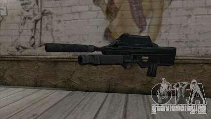 SC-20K Assault Rifle для GTA San Andreas