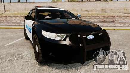 Ford Taurus Police Interceptor 2013 [ELS] для GTA 4