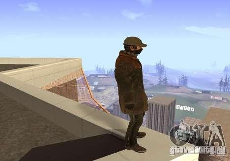 Aiden Pearce для GTA San Andreas
