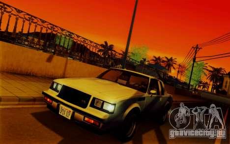 ENBSeries для слабых PC v2 [SA:MP] для GTA San Andreas четвёртый скриншот