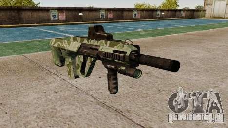Автомат Steyr AUG-A3 Optic Green Camo для GTA 4