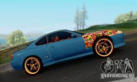 Nissan Silvia S15 Metal Style для GTA San Andreas вид справа