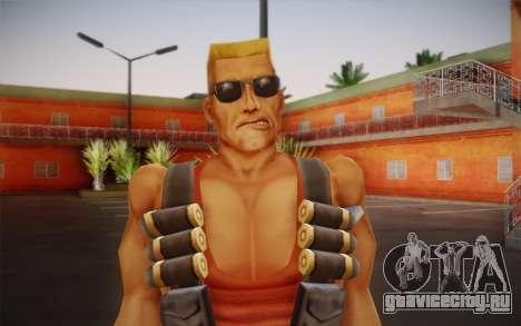 Duke Nukem для GTA San Andreas третий скриншот