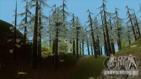 Густой лес v2 для GTA San Andreas четвёртый скриншот