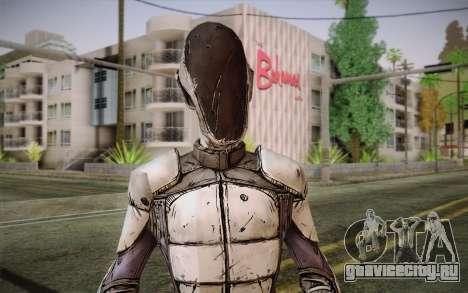 Zero из Borderlands 2 для GTA San Andreas третий скриншот