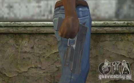 Desert Eagle from Modern Warfare 2 для GTA San Andreas третий скриншот