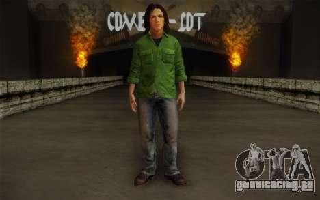 Sam Winchester из Supernatural для GTA San Andreas